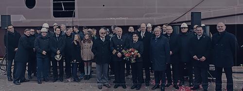 Christening ceremony at Remontowa Shipbuilding - Remontowa Shipbuilding