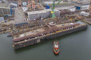 Remontowa Shipbuilding SA wodowanie promu dla Norled