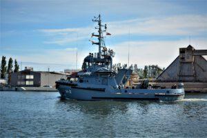 Holownik Mieszko H-2 - próby morskie